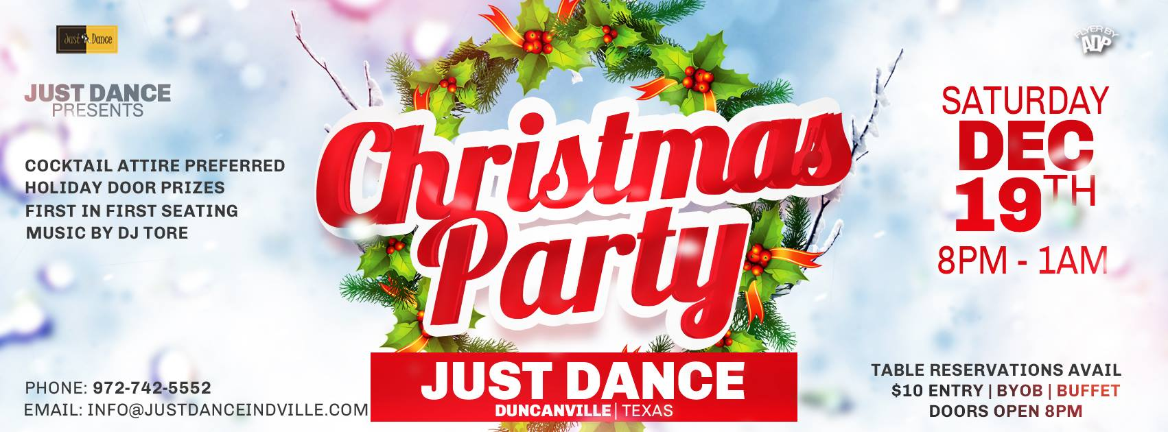 Just Dance Christmas Party – Duncanville, TX » DFW Swing Dance