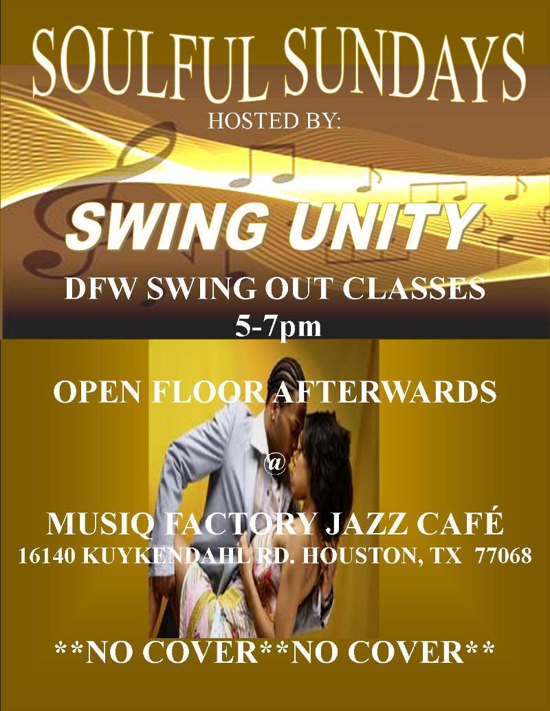Soulful Sundays Swing Unity Houston Dfw Swing Dance