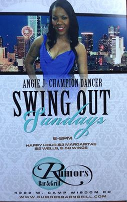Rumors Bar And Grill >> Angiej Rumors Bar Grill Swing Out Sundays Dfw Swing Dance