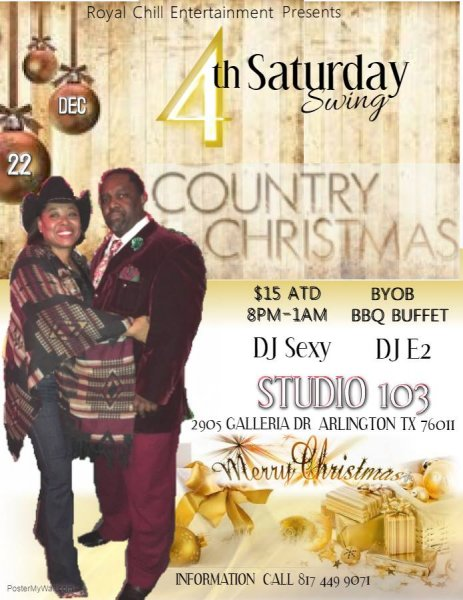 royal-chill-4th-saturday-swing-country-christmas-dec-22-2018